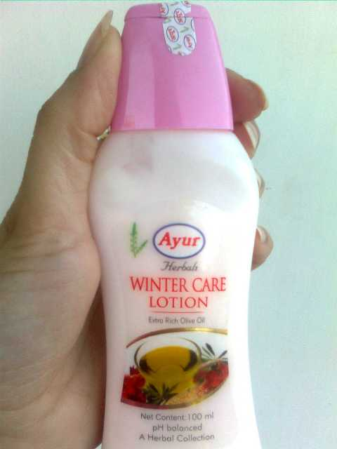 ayru winter care lotion