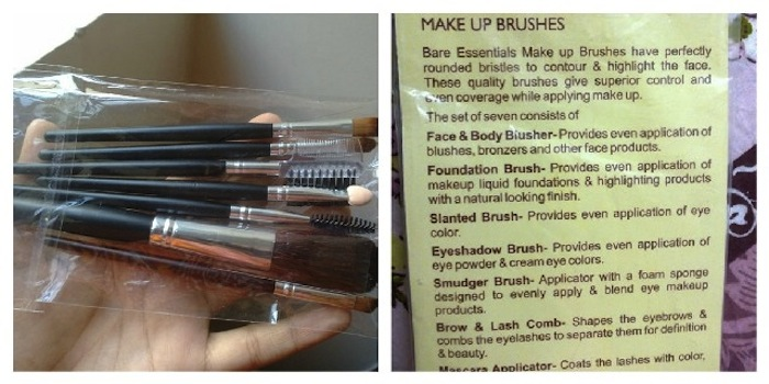 bare essentials makeup brushes