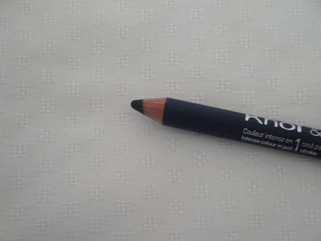 bourjois khol contour eyeliner pencil bleu graphique