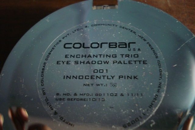 colorbar enchanting eyeshadow trio innocently pink (3)