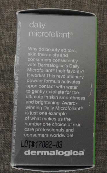daily microfoliant claims