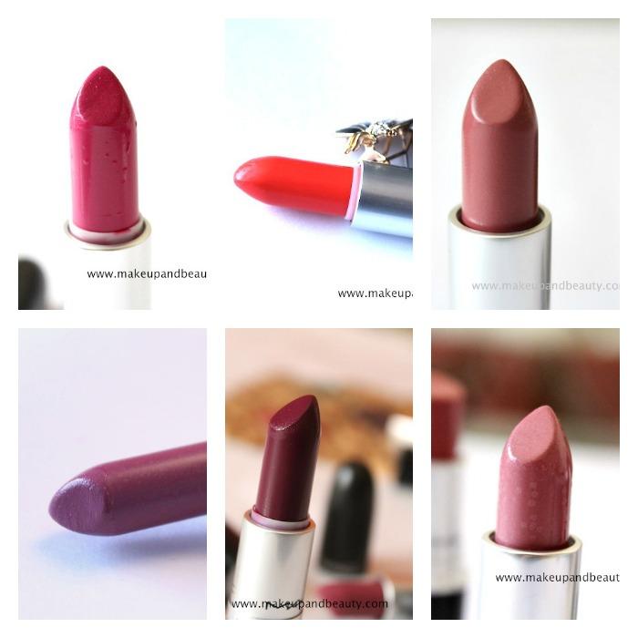fav mac lipsticks