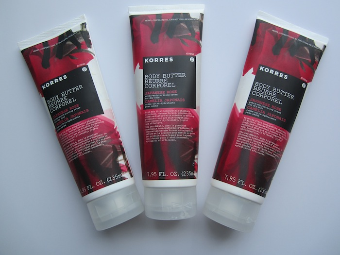 korres body butter review