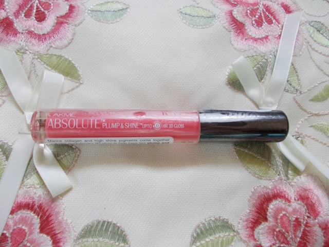 lakme absolute plump & shine lip gloss berry shine (2)