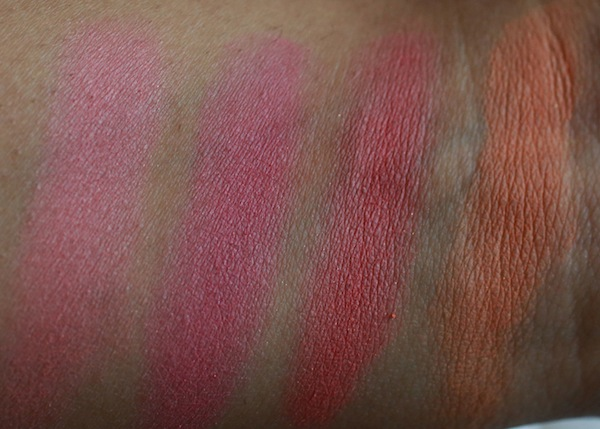 lotus blush swatches