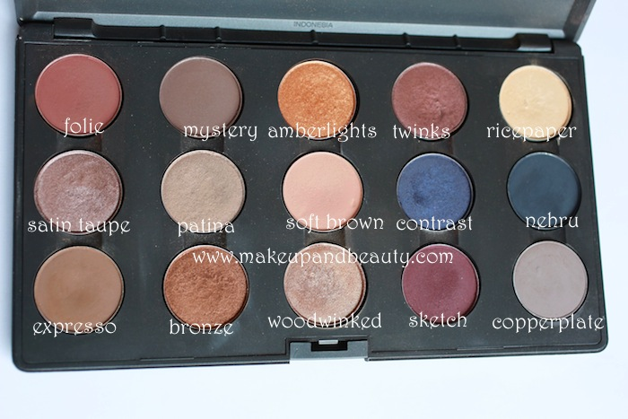 mac brown eyeshadow swatches