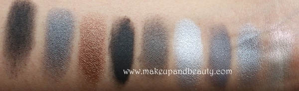 mac grey eyeshadows