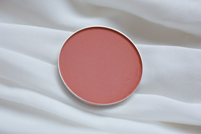 mac melba blush fotd