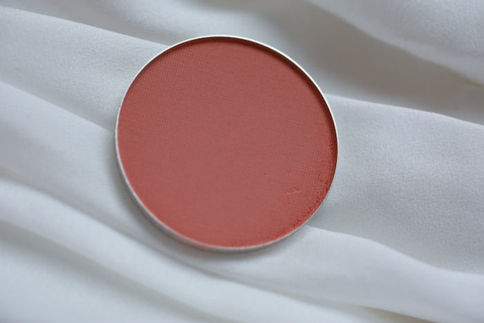 mac melba blush review