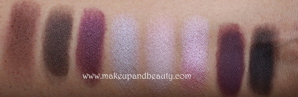 mac purple eyeshadow swatches