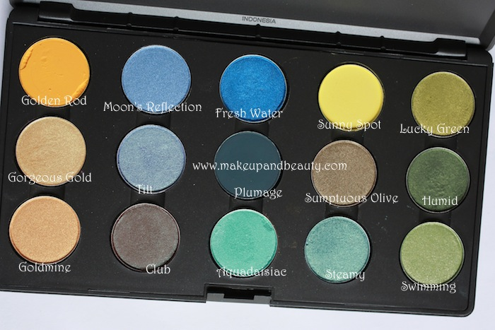 mac yellow eyeshadow