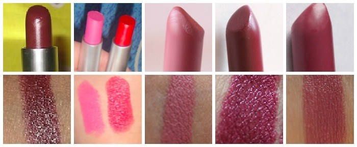 mac pink lipsticks