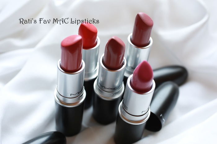Rati's favourite MAC Lipsticks