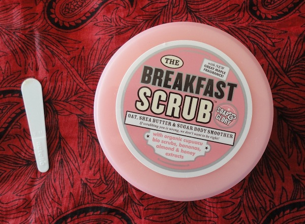 soapandglorybreakfastscrub Soap and Glory The breakfast Scrub Body Smoother Review