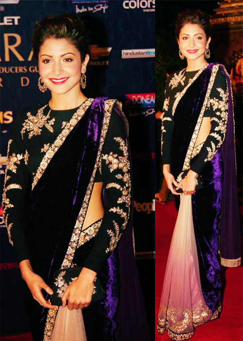 Anushka Sharma Anushka Sharma in Saree