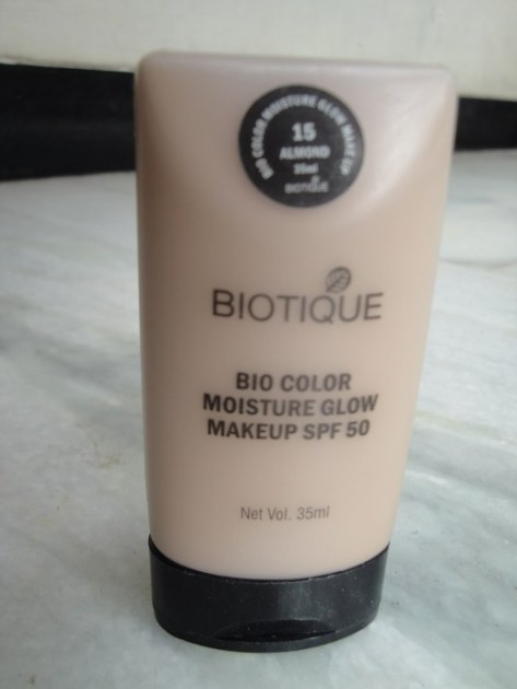 Biotique Bio Color Moisture Glow Makeup with SPF 50 Review