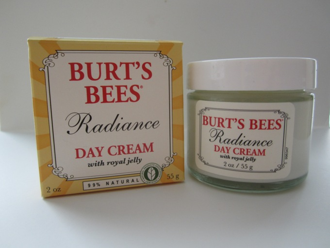 Burt's+Bees+Radiance+Day+Cream+Review