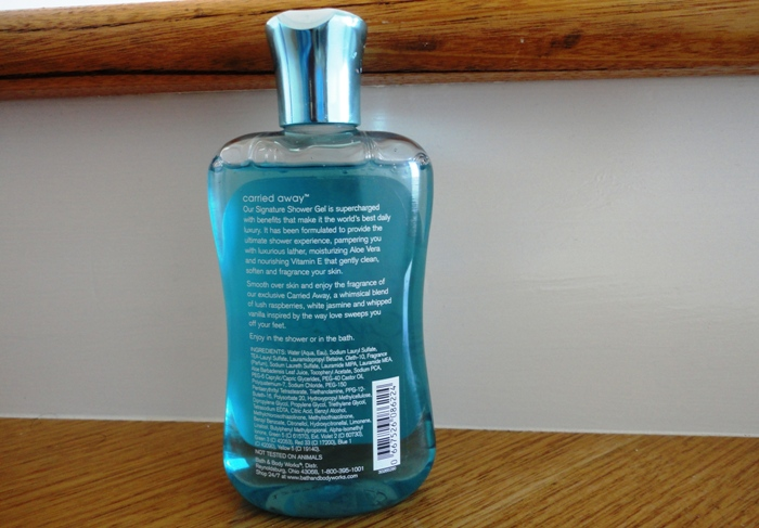 Carried Away Shower Gel 3