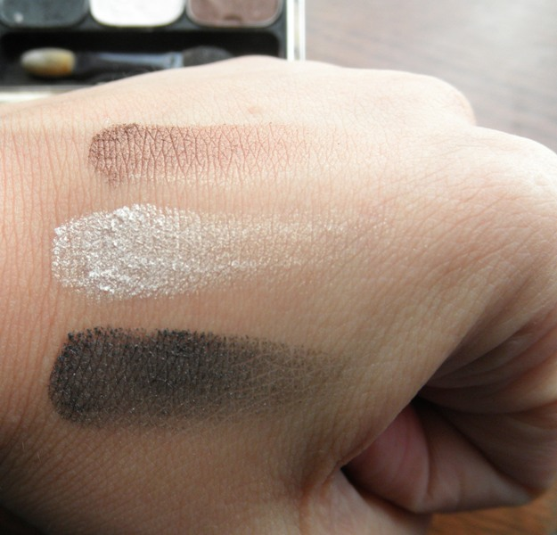 Chambor eyeshadow trio Mystic Swatches 1