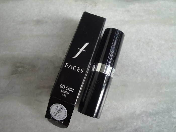 Faces+Go+Chic+Lipstick+Hazelnut+Review