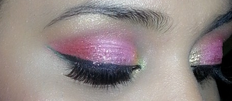 Indian Bridal Pink Eye Makeup Tutorial