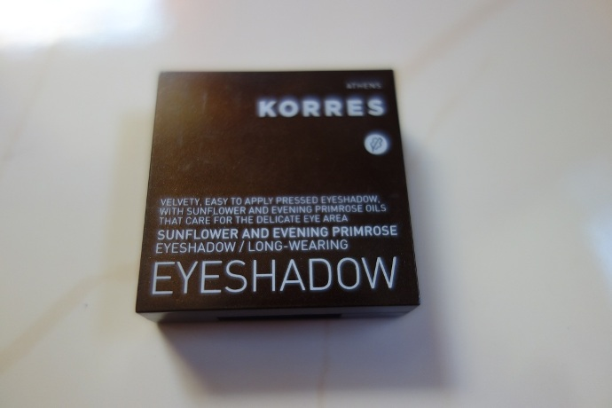 Korres+Sunflower+and+Evening+Primrose+Long+Wearing+Eyeshadow+Pink