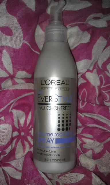 L'oreal EverStyle Alcohol-Free Volume Root Lifting Spray (5)