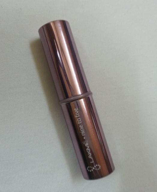 Lakme Nine To Five Lip Color Dusk Sparkle Review