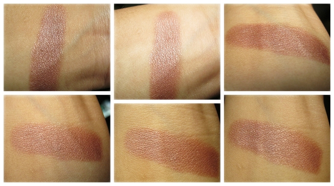 Lakme hand swatch Lakme Nine to Five Lipstick – Creme Brulee Review