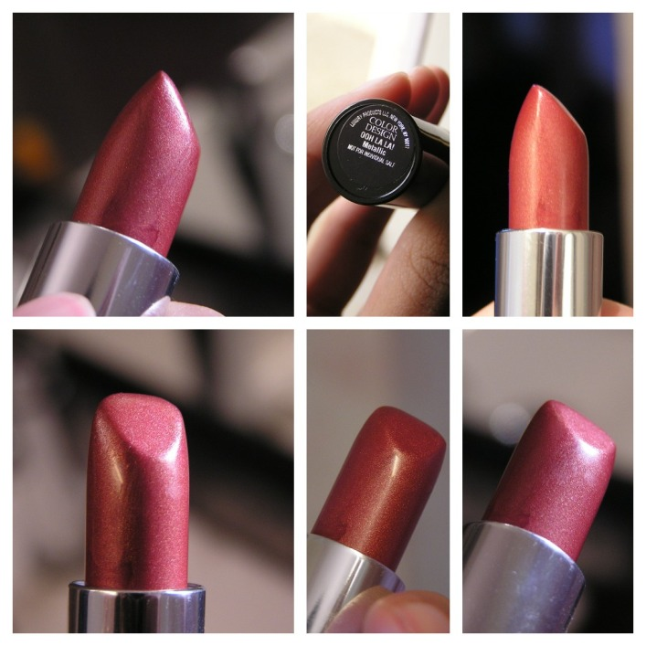 Lancome Color Design Lipstick Ooh La La Review