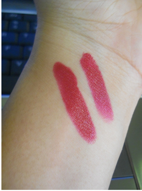Lissome Lipstick shade 509 swatch