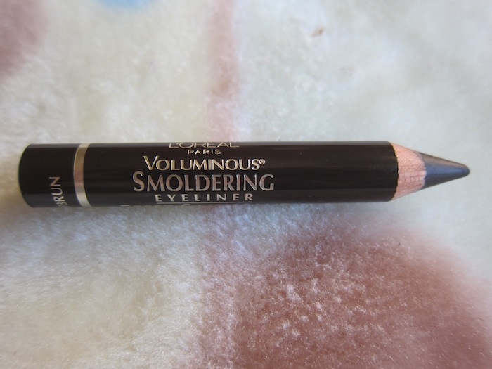 Loreal voluminous smoldering brown eyeliners Loreal Voluminous Smoldering Eyeliner Brown Review