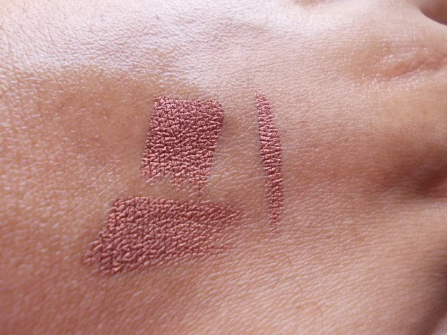 MAC Fluidline Rich Ground swatches