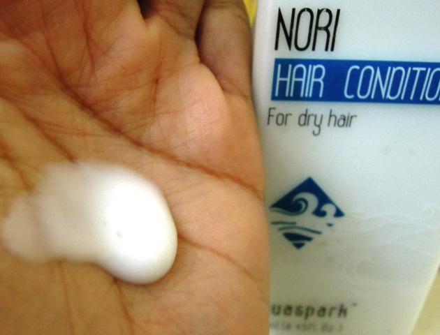The Nature's co Nori hair conditioner  (4)