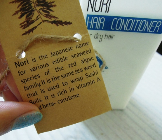 Nature's co Nori hair conditioner  (5)