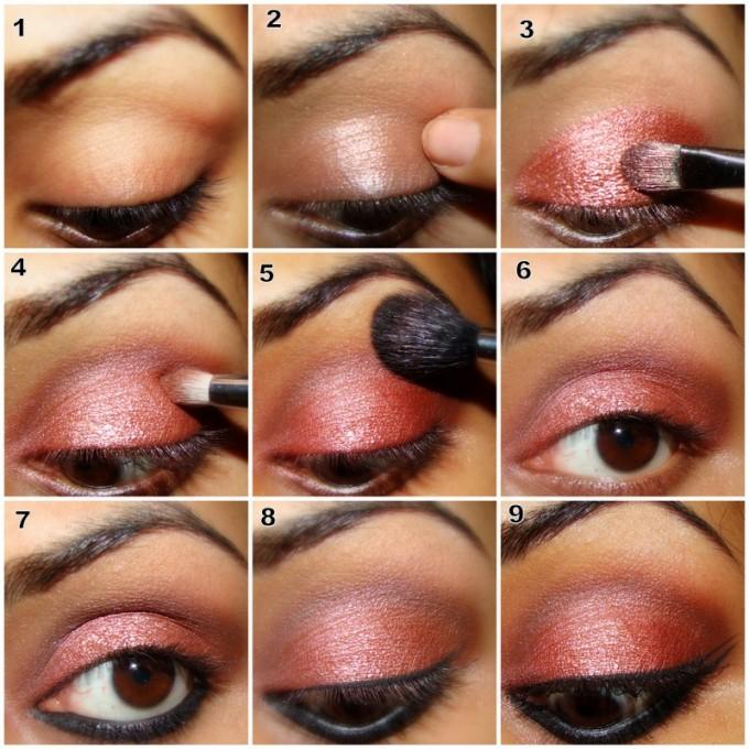 Glittery Eye Makeup Tutorial  Glittery Eye Ma...