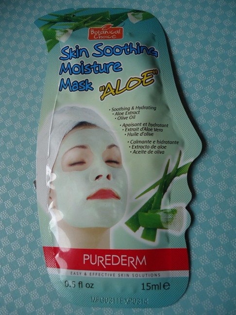 Purederm+Skin+Soothing+Moisture+Mask+Aloe+Review