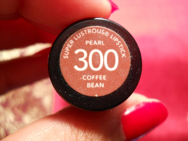 Revlon super lustrous lipstick coffee bean (3)