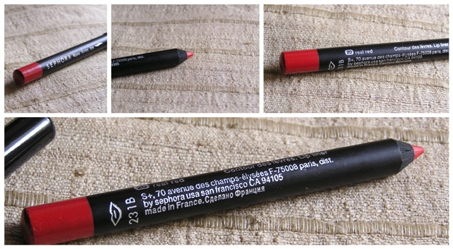 Sephora nano lip liner rich red 2 Sephora Nano Lip Liner in 20 Real Red Review