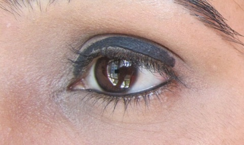 Step3 Duo Chrome Smokey Eyes