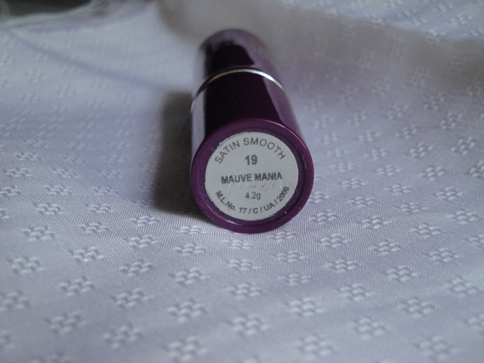 Streetwear Satin Smooth Lip Color Mauve Mania