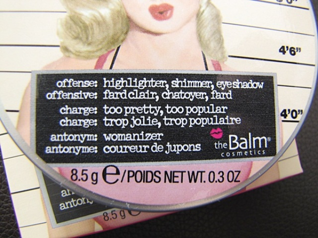 The Balm Mary Lou Manizer4 The Balm Mary Lou Manizer Review