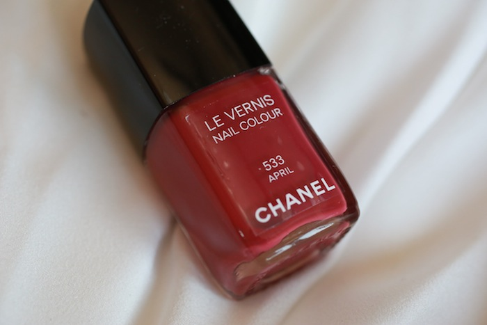 chanel april nail paints
