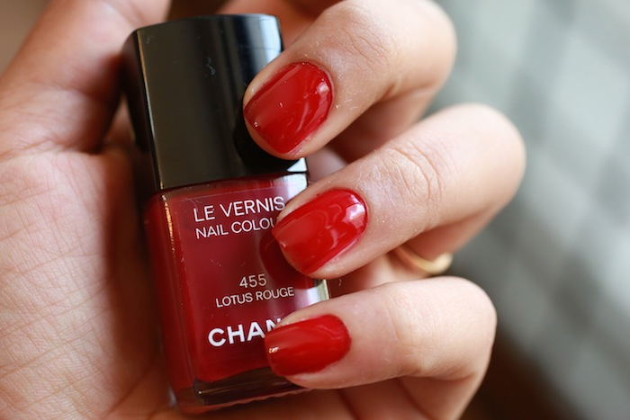 chanel lotus rouge