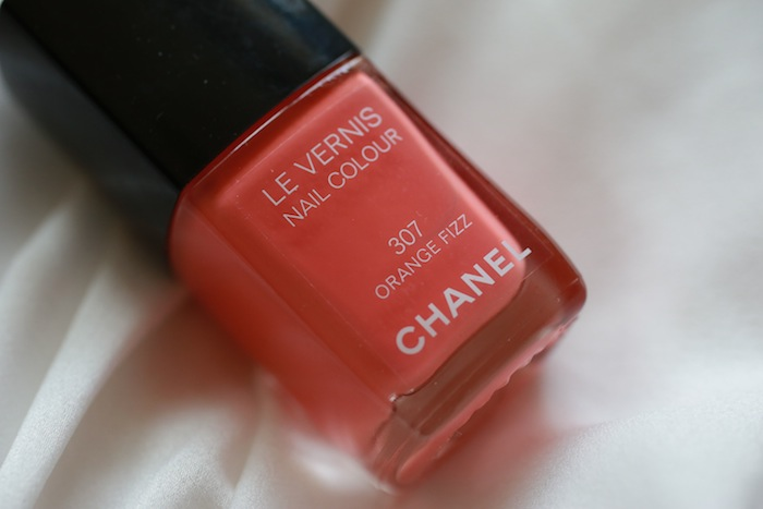 chanel orange fizz 1 All Chanel Nail Paints Photos, Swatches