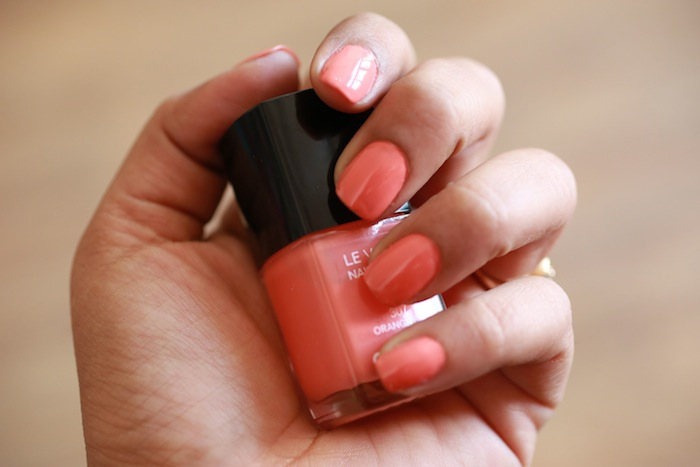 chanel orange fizz 2 All Chanel Nail Paints Photos, Swatches