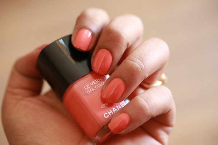 chanel orange fizz 3 All Chanel Nail Paints Photos, Swatches