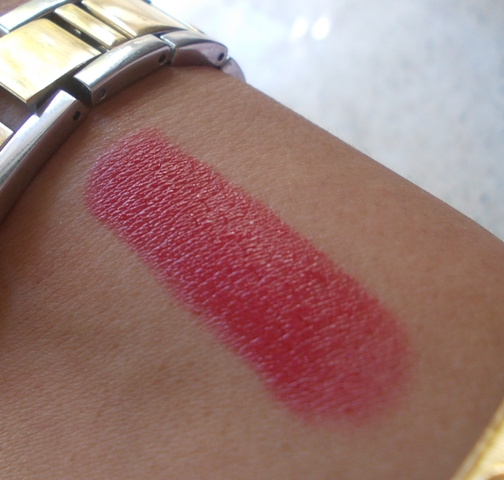 colorbar creme touch lipstick candy shot swatch