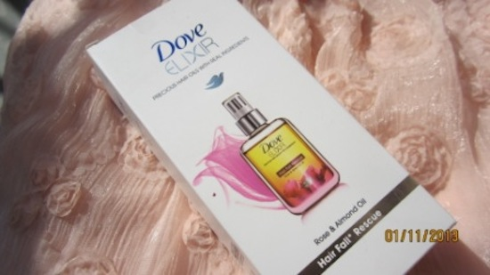 dove exilir almond oil