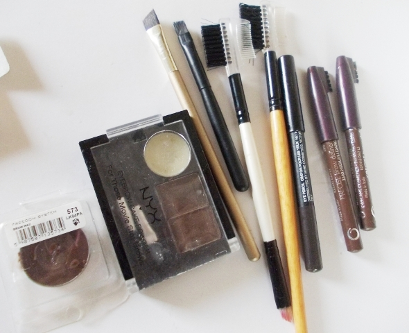 eyebrow grooming brushes & pencils